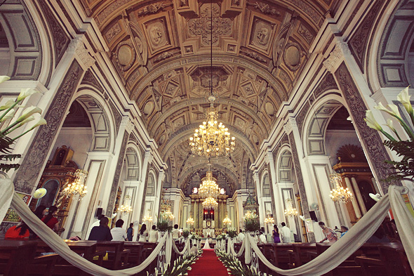 The antique baroque charm of san agustin church weddings in the aside junglespirit Gallery