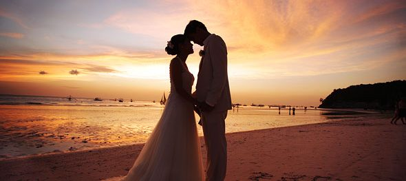 Boracay: The World's Best Beach 2012 and the Best Place in the World to get married.