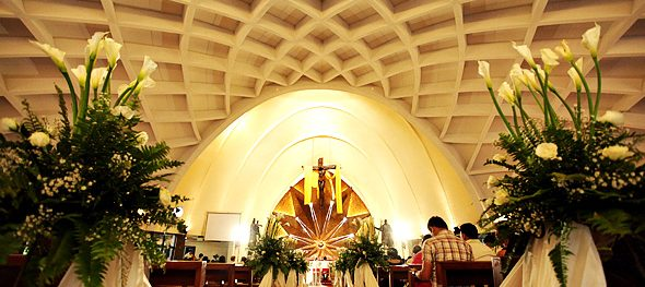 Makati's Don Bosco Parish Church – Simple, elegant, geometric architecture