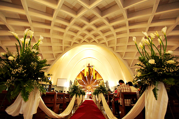 The Ceiling of the Don Bosco Church on Arnaiz, Makati