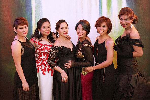 Makeup artists at the Philippine Wedding Industry Ball