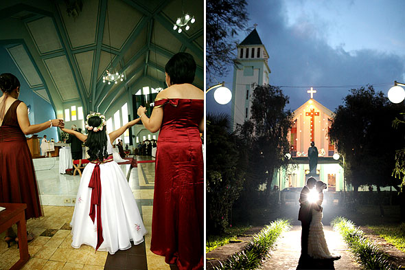 Baguio Church Wedding
