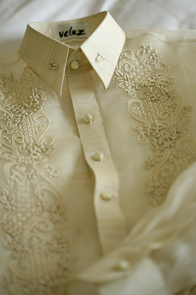 Jusi Barong Tagalog for Weddings