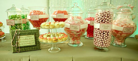Incorporating a Candy Buffet at Your Wedding
