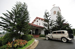Exclusive, elegant weddings at the Madre de Dios Chapel in Tagaytay