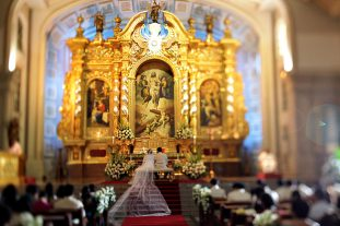 The old-world elegance of St. James the Great Parish in Ayala Alabang Village