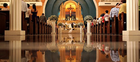 Shrine of St. Therese and the Holy Face Pasay: Perfect for big classic weddings