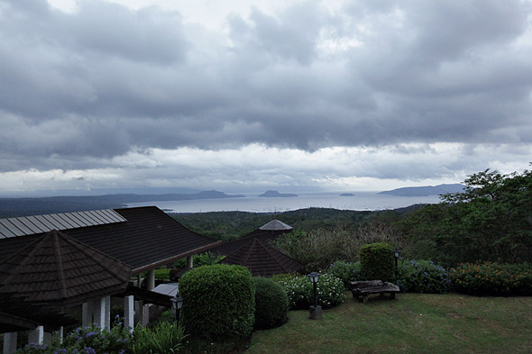 View of Taal from Madre de Dios Tagaytay Midlands