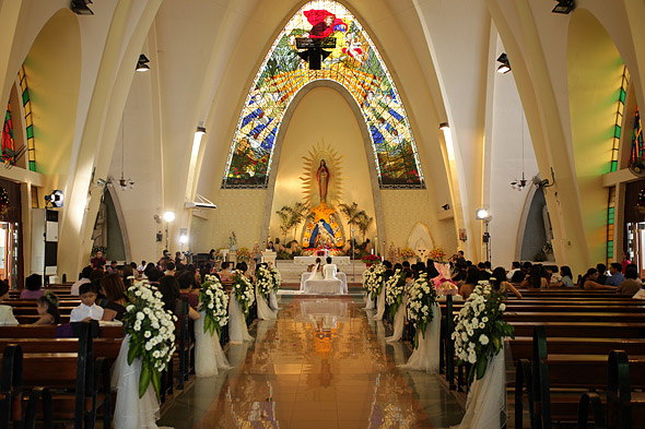 Altar of the Sacred Heart Parish Cebu
