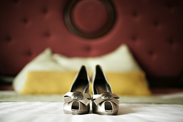 Hotel Wedding Preps in Makati