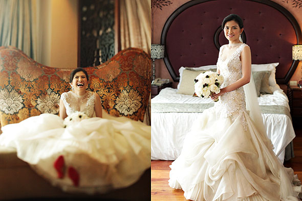 Wedding preps at Hotel Celeste on Arnaiz Ave, Pasay Road, Makati City