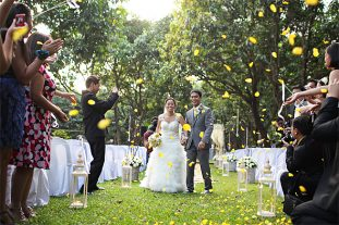 Nature-inspired wedding receptions at The Mango Farm