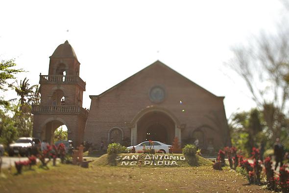 San Antonio de Padua Church Silang Tagaytay Facade