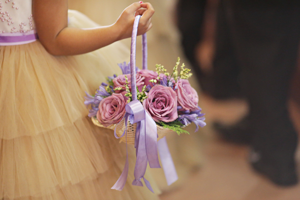 Flower Baskets Wedding : Flower girls and ring bible bearers