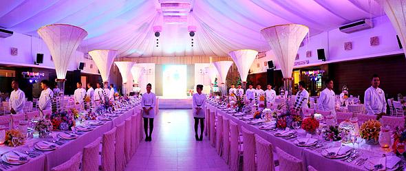 Blue Leaf Wedding