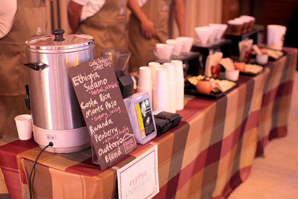 Coffee Bar for Weddings by Cafe Antonio