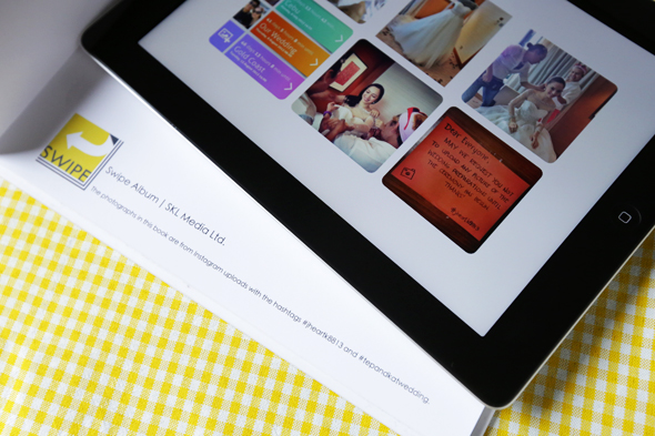 Layout Instagram photographs into iBooks, PDF files plus printed book.
