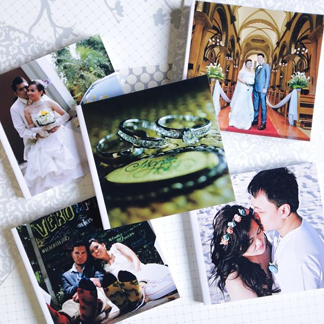 Small photobooks for wedding